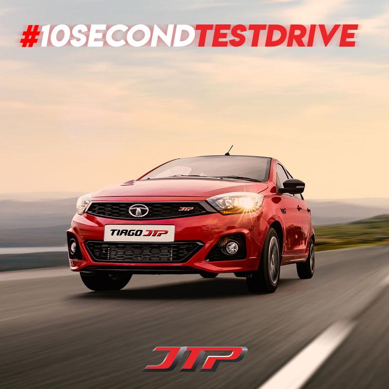 10 Second Test Drive campaign creative