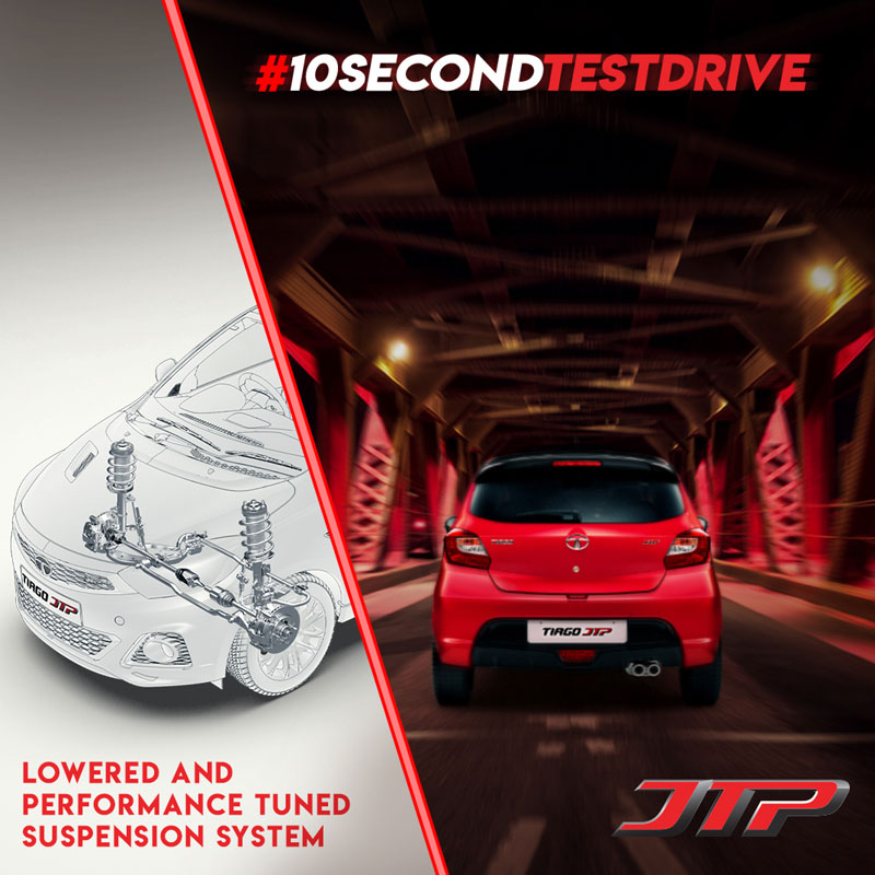 Creative for Tata Tiago Performance and Suspension
