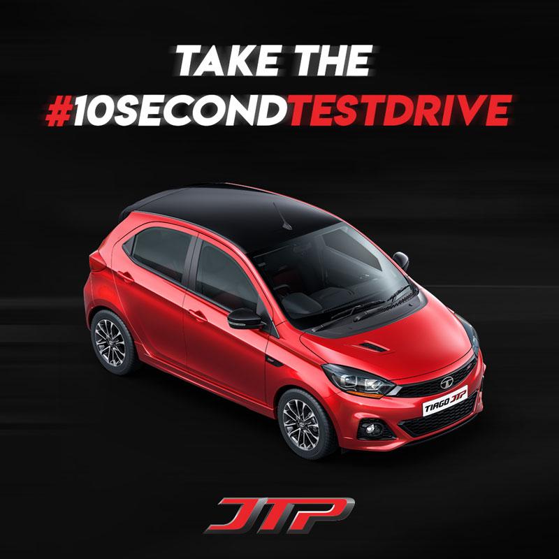 Test Drive Campaign for Tata JTP Motors