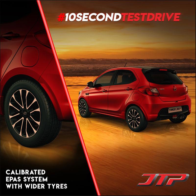 Ten Second Test Drive campaign for TATA Tiago
