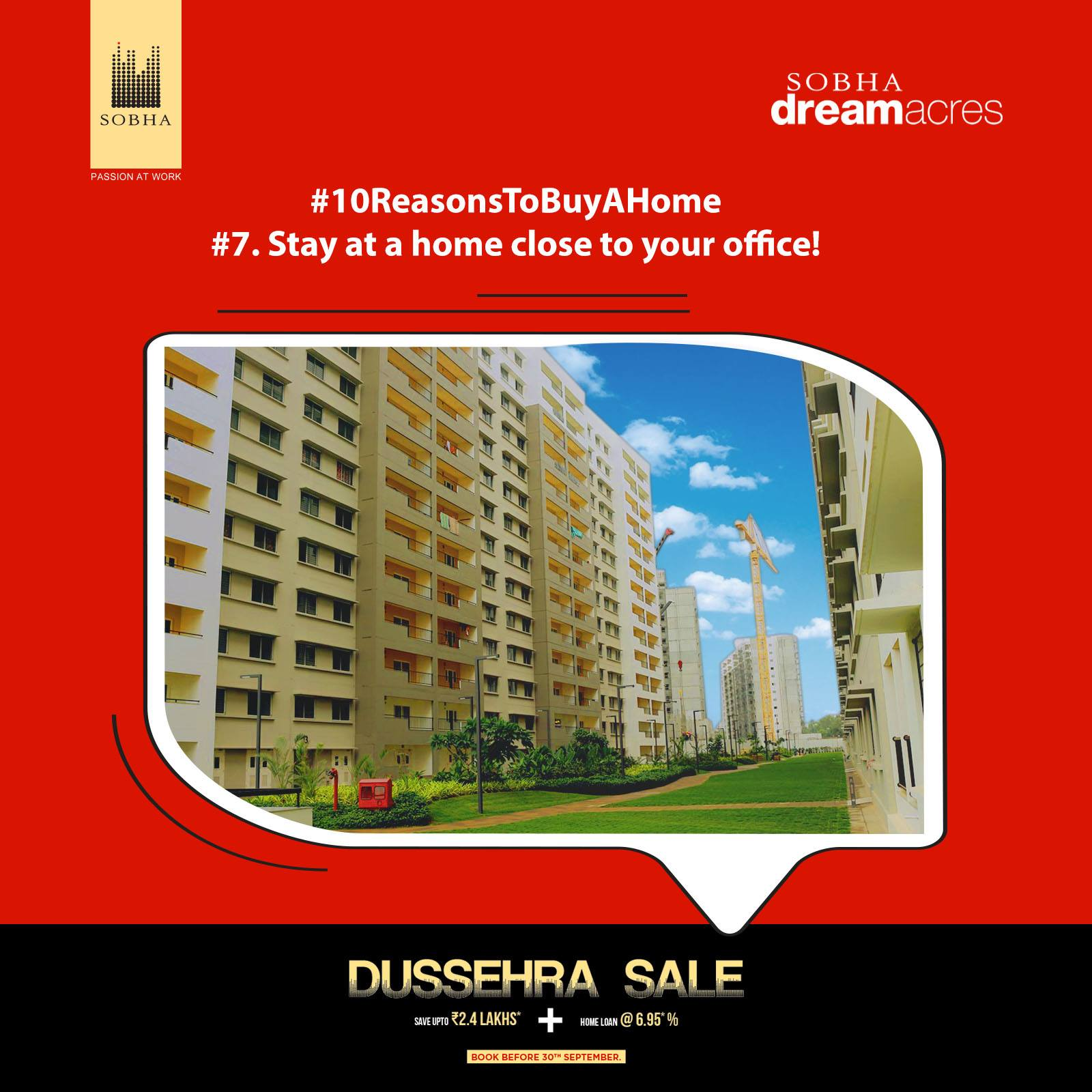 Real estate apartments - Sobhadream acres
